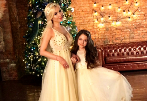 Алена Кравец и дочь фото