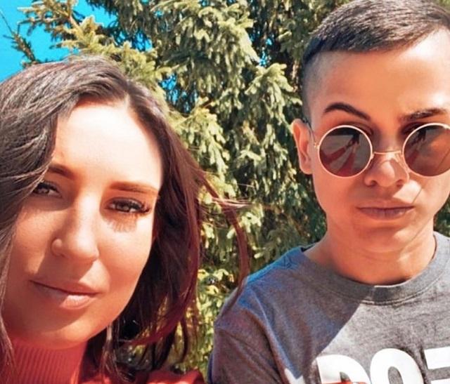 Анжелина Лужанская и Катя фото