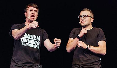 Арсений Попов и Дмитрий Позов фото