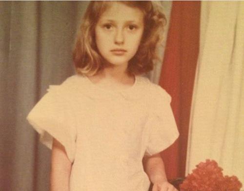 детское фото Ксении Бурды