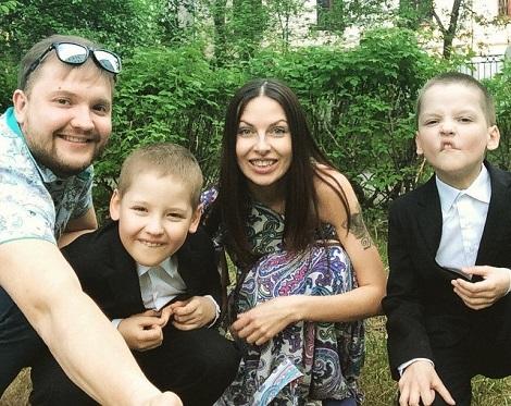 наталья краснова и ее семья фото