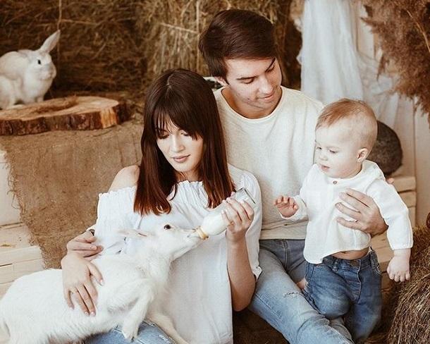 семья Яна Цветкова фото